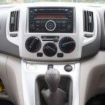 Nissan Evalia center console