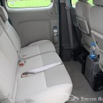 Nissan Evalia second row seats