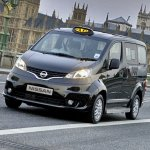 Nissan NV200 London Taxi front
