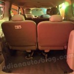 Nissan Evalia third row folded