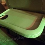 Nissan Evalia tray on the front seat back