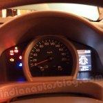 Nissan Evalia instrument cluster