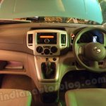 Nissan Evalia dashboard layout