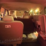 Nissan Evalia one third row seat folded