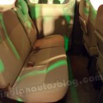 Nissan Evalia rear seat legroom