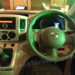 Nissan Evalia driver side dashboard