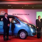 Nissan Evalia media presentation in Bengaluru