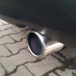 Renault Scala chrome-tipped exhaust