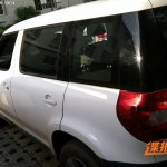 Skoda Yeti long wheelbase China