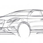 Suzuki-S-Cross- SX4-concept-pencil drawing