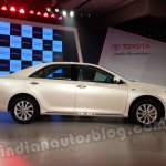 Toyota Camry India launch New Delhi launch side profile
