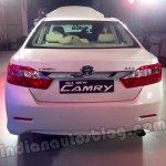 Toyota Camry India rear view