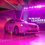 Toyota Camry India launch