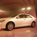 Toyota Camry Launch in India front three quarters