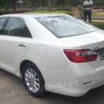 Toyota Camry front three quarters
