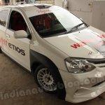 Toyota Hyper Etios front three quarter