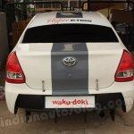 Toyota Hyper Etios rear