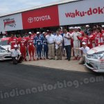 Toyota Etios Motor Racing launched at MMSC