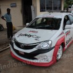 Toyota Etios Motor Racing safety car front