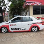 Toyota Etios Motor Racing safety car side