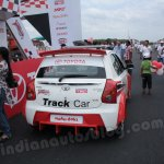 Toyota Etios Motor Racing - Liva Track Car rear view