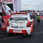 Toyota Etios Motor Racing - Liva Track Car rear view