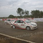 Toyota Etios Motor Racing exhibition race at MMSC Chennai