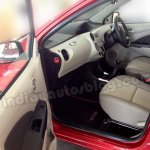 Toyota Etios Liva with beige interior from passenger side