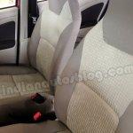 Toyota Etios Liva beige interior front seats