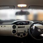 Toyota Etios Liva beige interior dashboard