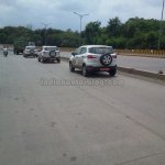 Ford EcoSport convoy on test in Pune