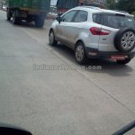 Ford EcoSport Titanium variant on test