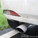 2012 Fiat Punto Sport exhaust pipe