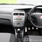 2012 Fiat Punto Sport interiors