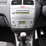 2012 Fiat Punto Sport center console