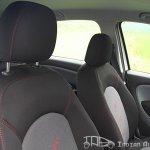 2012 Fiat Punto Sport seats