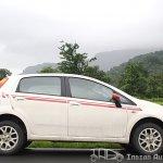 2012 Fiat Punto Sport side