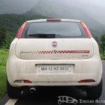 2012 Fiat Punto Sport rear