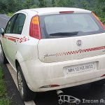 2012 Fiat Punto Sport side profile