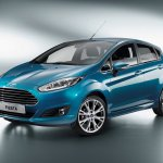 2013 Ford Fiesta front