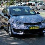 2013 Renault Fluence facelift test mule spyshot