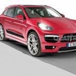 2014 Porsche Macan front