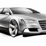 Audi A8 Rendering