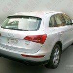 Audi Q5 economy variant rear view