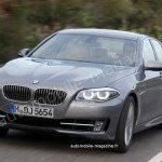BMW 5 Series facelift illustration