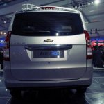 Chevrolet Enjoy's flat and boxy rear profile