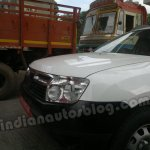 Dacia Duster test mule in Chennai