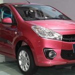 Facelifted Suzuki A star front