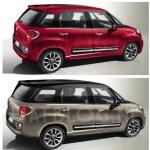 Fiat 500L vs Fiat 500XL