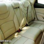 Fiat Viaggio rear seats